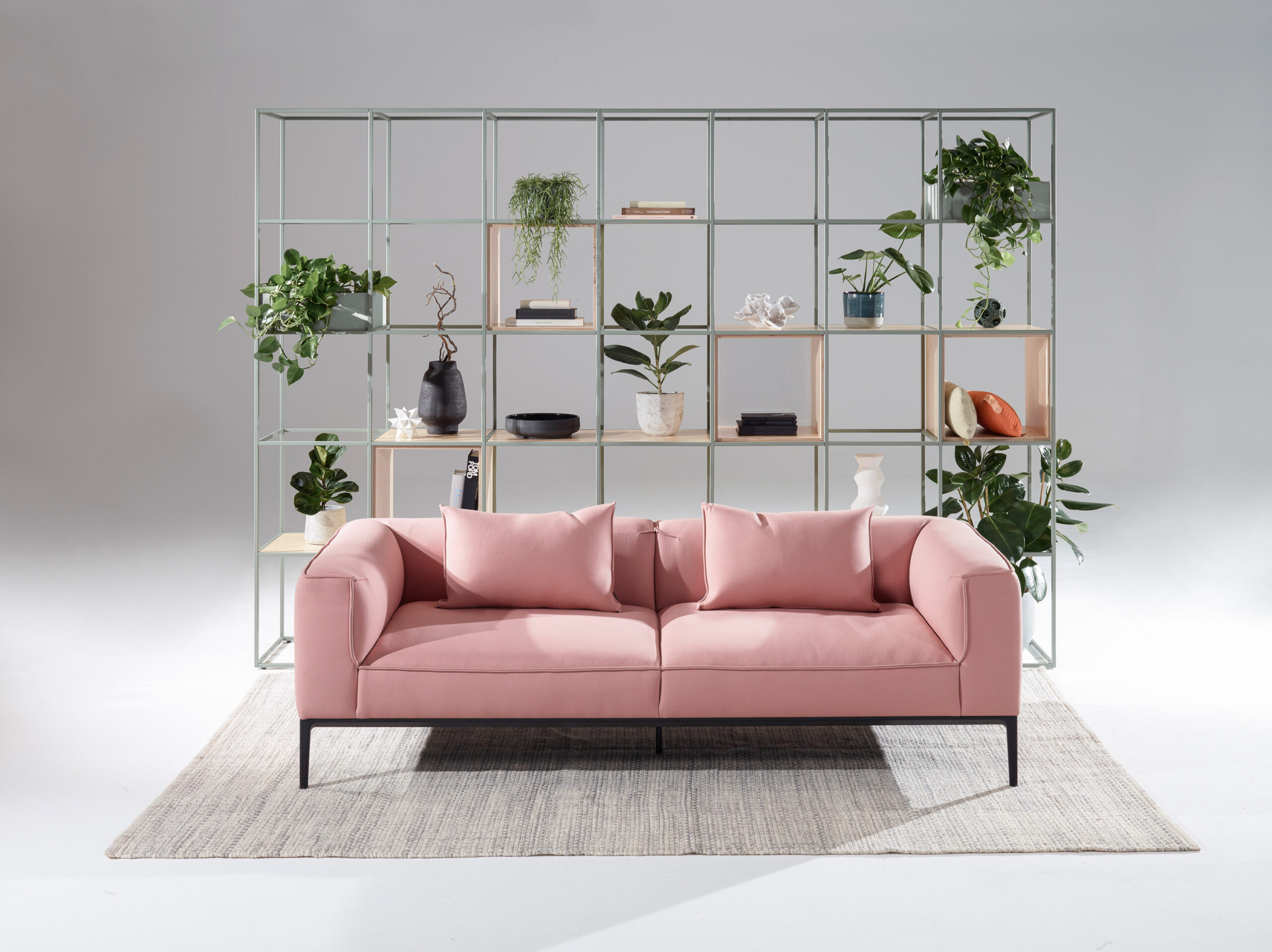 Crate Divide and Oran sofa by Allermuir